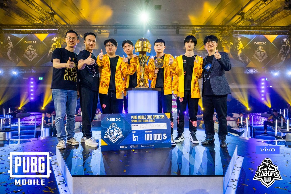 China's TOP ESPORTS Is the Champion of the PUBG Mobile Club