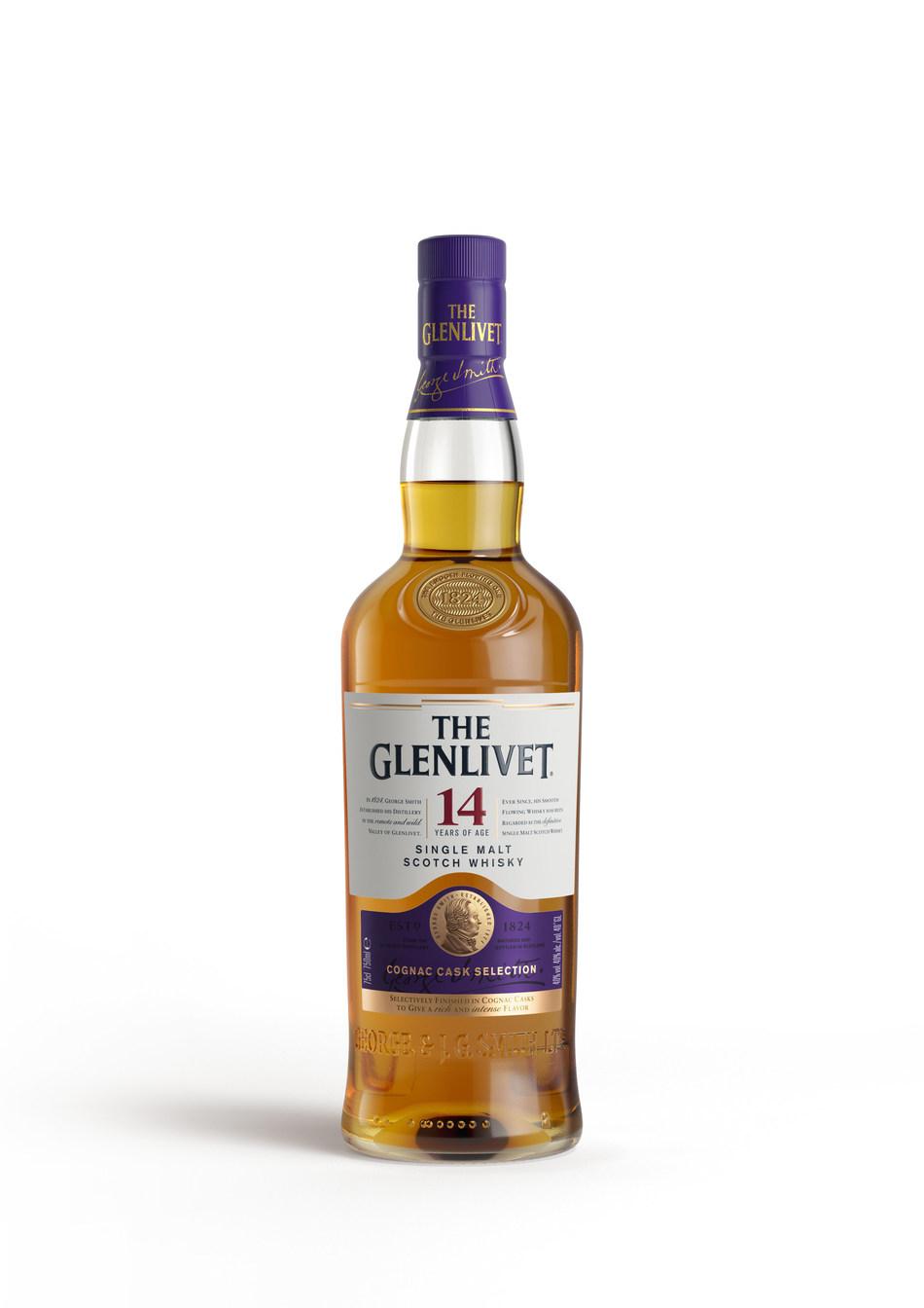 The Glenlivet 14 Year Old Bottle