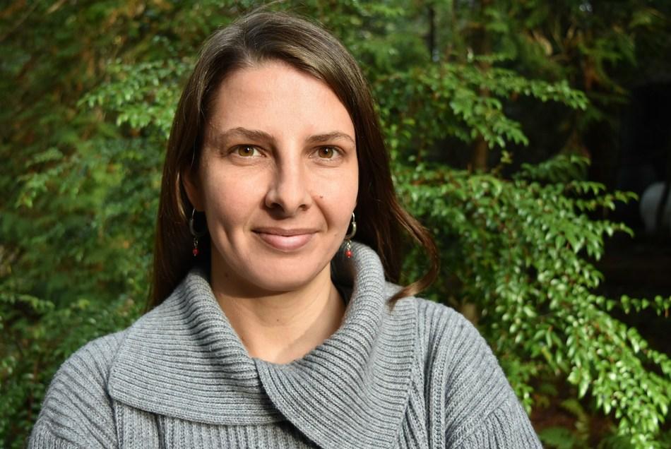 « Dawn Marie Paley, récipiendaire de la bourse Portenier droits de la personne, 2019. Crédit: Murray Bush/Flux Photo » (Groupe CNW/Forum des journalistes canadiens sur la violence et le traumatisme)