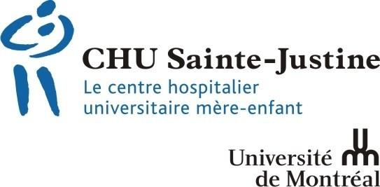 Logo: The Sainte-Justine University Hospital Centre (CHU Sainte-Justine) (CNW Group/Sainte-Justine University Hospital Center)