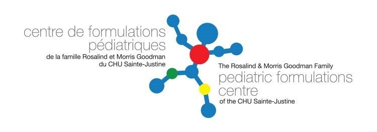 Logo: The Pediatric Formulations Centre of the CHU Sainte-Justine (CNW Group/Sainte-Justine University Hospital Center)