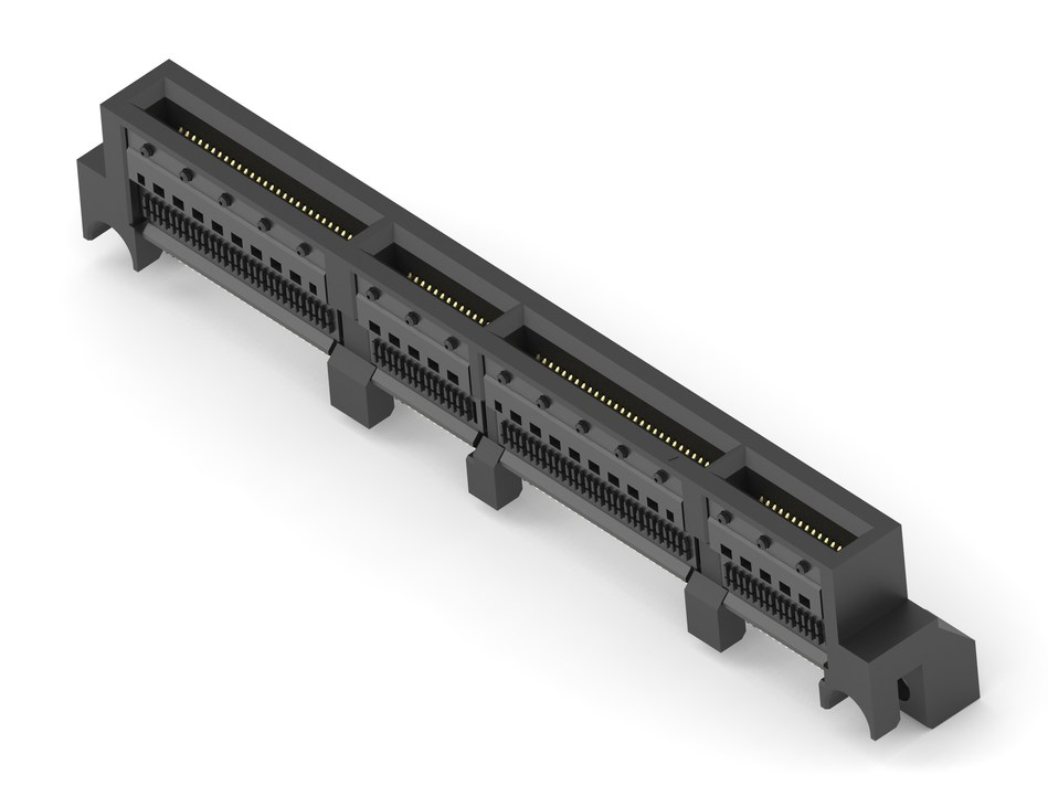 TE Connectivity's new Sliver straddle-mount connectors are the new standard form factor supporting a faceplate-pluggable Open Compute Project (OCP) NIC 3.0.