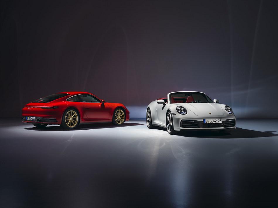 2020 911 Carrera & 911 Carrera Cabriolet