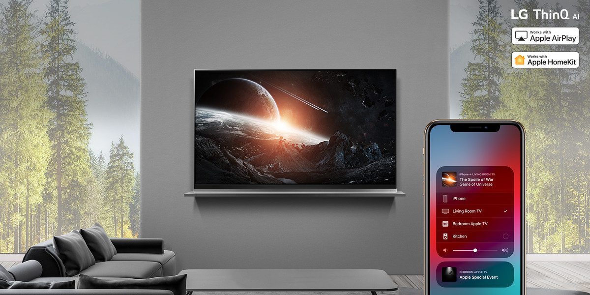 LG Rolls Out Apple AirPlay 2 In U S  On 2019 LG OLED, LG
