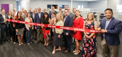 Maxor Executives and Pittsburgh team at the Grand Opening
