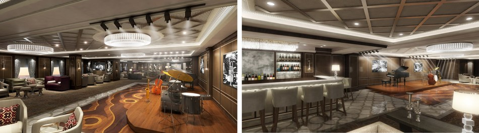 Take 5 will debut onboard Sky Princess & Enchanted Princess as the only jazz theater at sea.