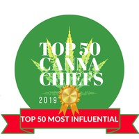 Top 50 Most Influential Canna Chief of 2019 official badge (CNW Group/CANNACHIEFS Media)