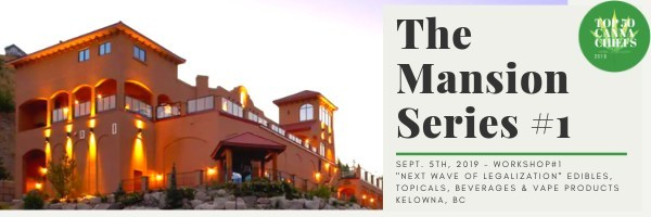 "The Mansion Series #1 - Kelowna, BC - ""The Next Wave of Legalization"" (CNW Group/CANNACHIEFS Media)"