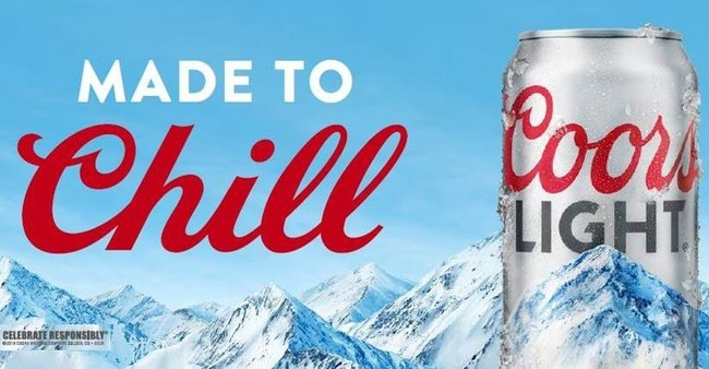 Coors Light is 'Made to Chill'