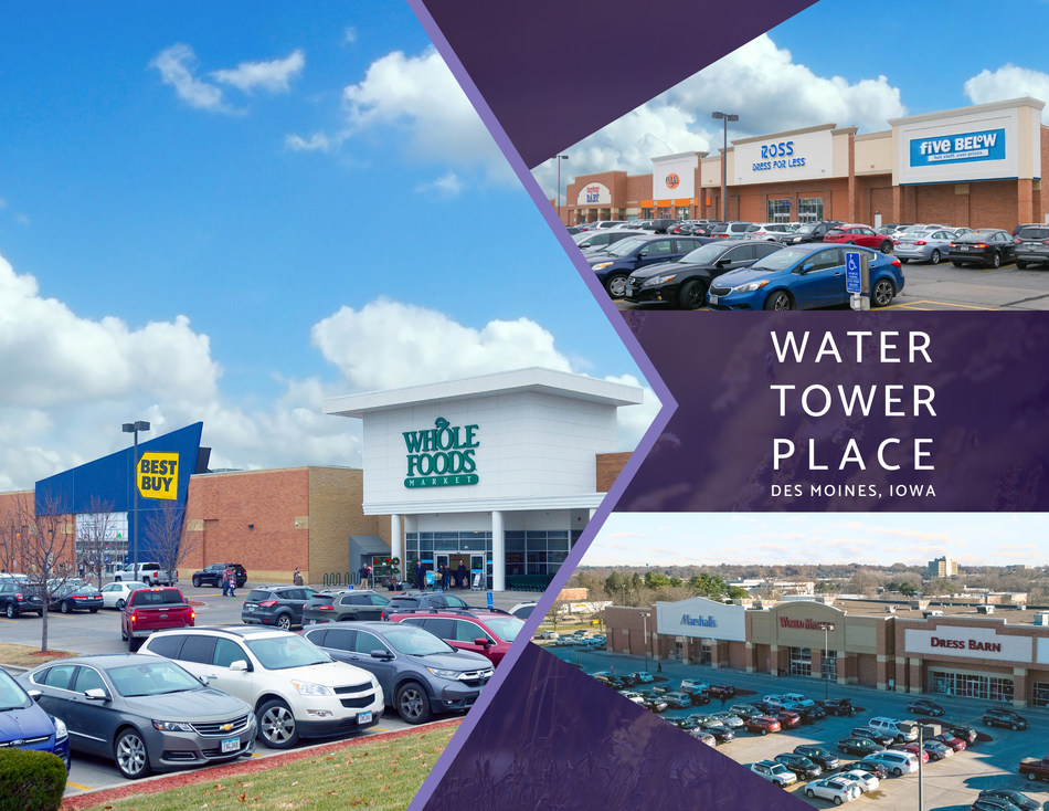 Pegasus Investments Arranges Record Sale Of Water Tower Place In Des Moines Marking 2nd Highest Price Ever Paid For A Shopping Center In Iowa History