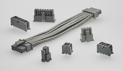 TE Connectivity's ELCON Micro wire-to-board products provide a high current up to 12.5A per pin in the common industry footprint of 3.0mm.