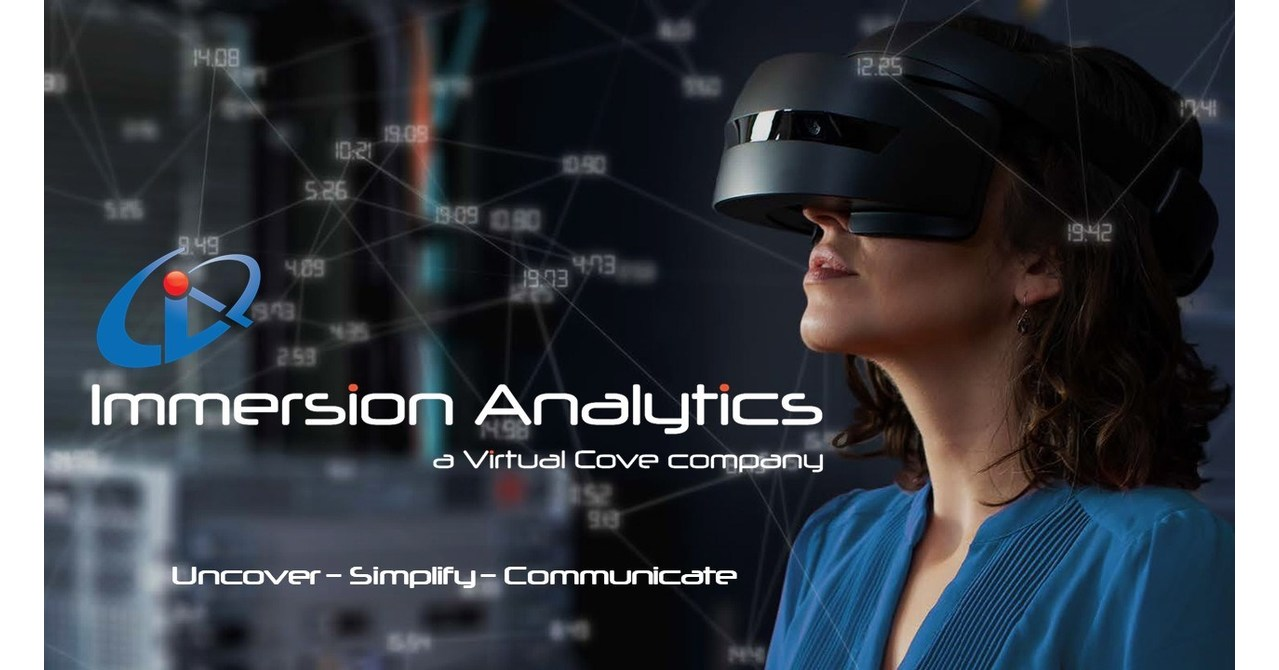 Immersion Analytics Announces Partnership with Qlik to Bring Immersive Data Visualization to the BI Segment
