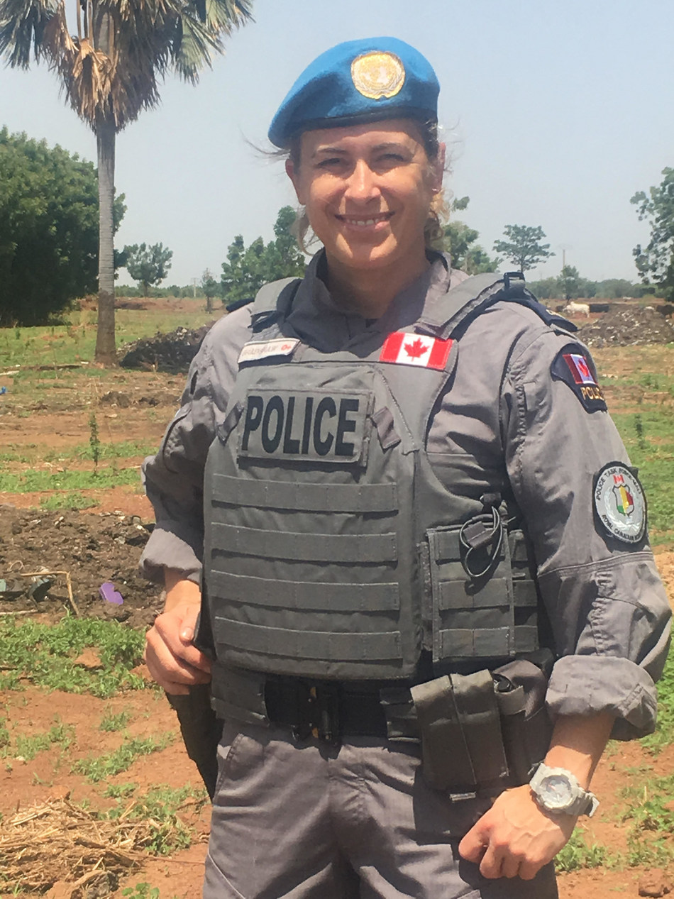 Supt. Bradshaw in Bamako, Mali (RCMP-GRC) (CNW Group/Royal Canadian Mounted Police)