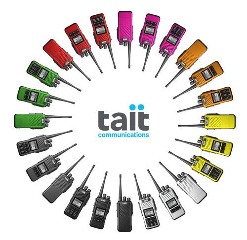 Les radios de la série TP3 de Tait sont uniques et hautement personnalisables! (Groupe CNW/Allcan Distributors)