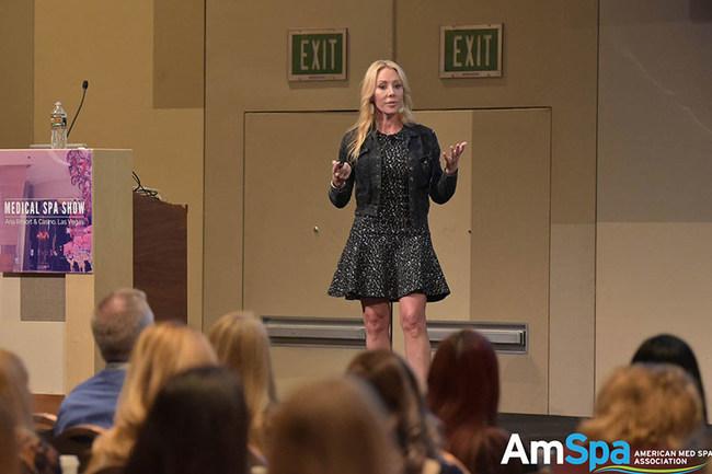 Terri Ross Speaking at AmSpa Med Show
