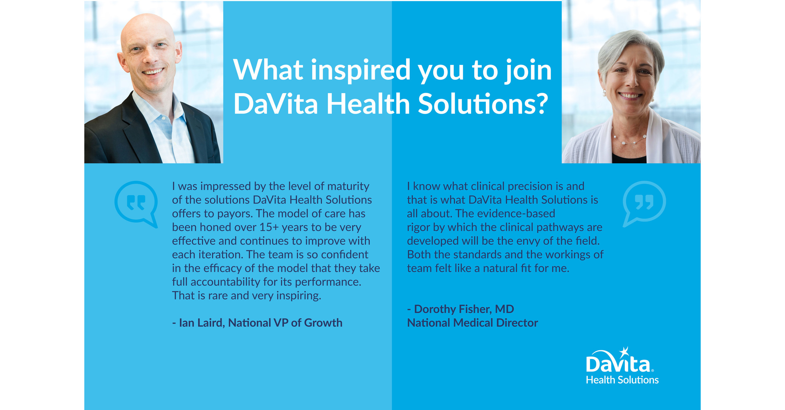 DaVita Health Solutions Grows Leadership Team