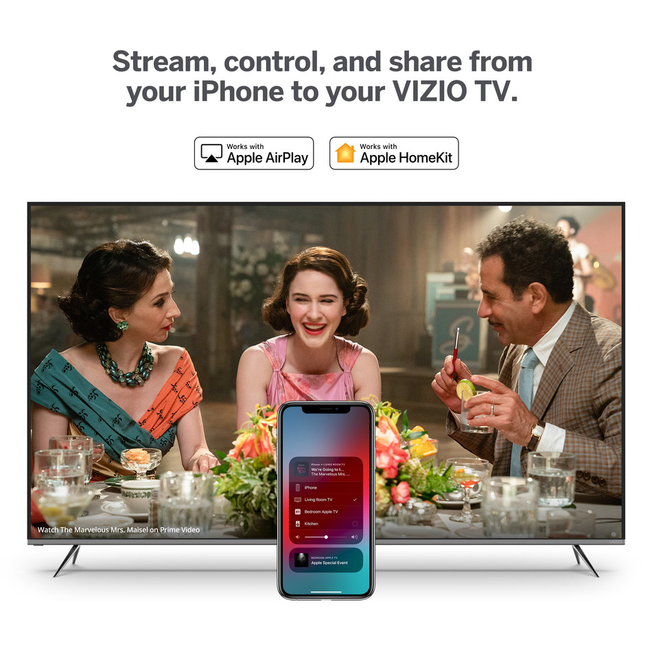 VIZIO SmartCast 3.0, with support for Apple Airplay 2 and HomeKit, is rolling out now providing backwards compatibility for VIZIO TVs dating back to 2016, bringing more value by allowing users to stream, control and share content.
