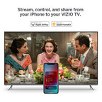 Support for Apple AirPlay 2 and HomeKit Rolling Out Now to VIZIO SmartCastTM TVs