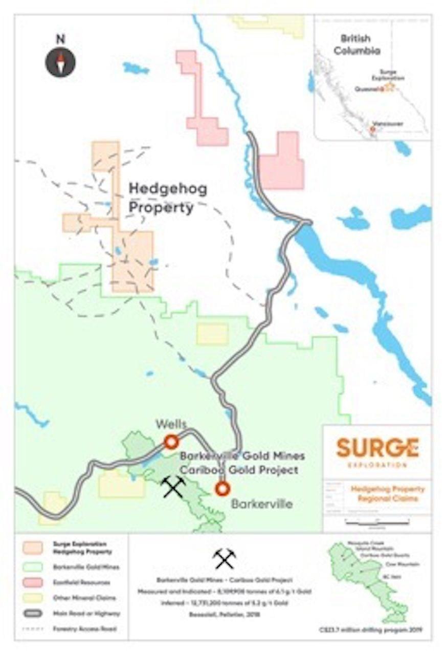 Surge Exploration Commences Fieldwork at its Copper Gold