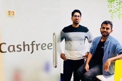 Cashfree Founders, Akash Sinha and Reeju Dutta
