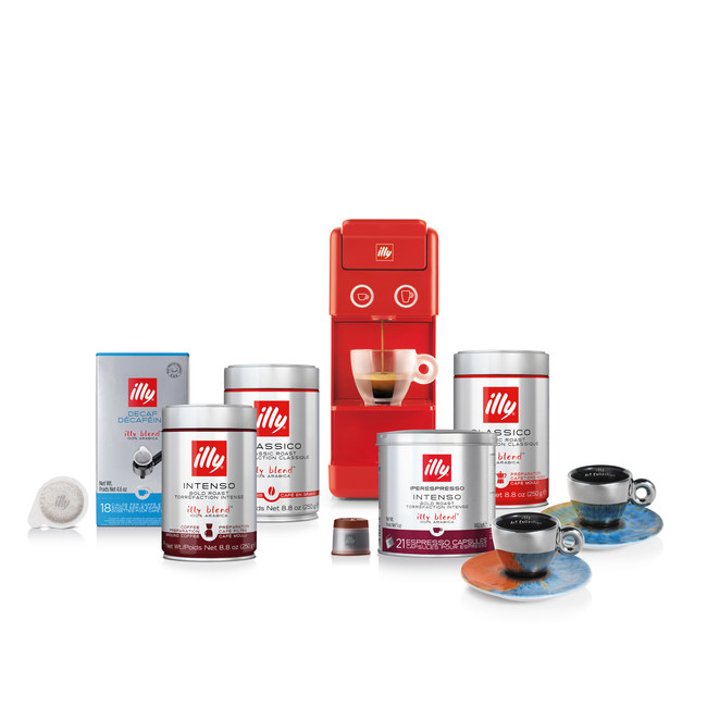 New illy eSHOP for Canadian coffee lovers offers coffee, tea, espresso machines, illy Art Collection cups and more.