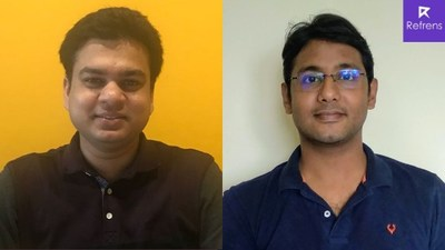 Refrens.com founders Naman Sarawagi and Mohit Jain