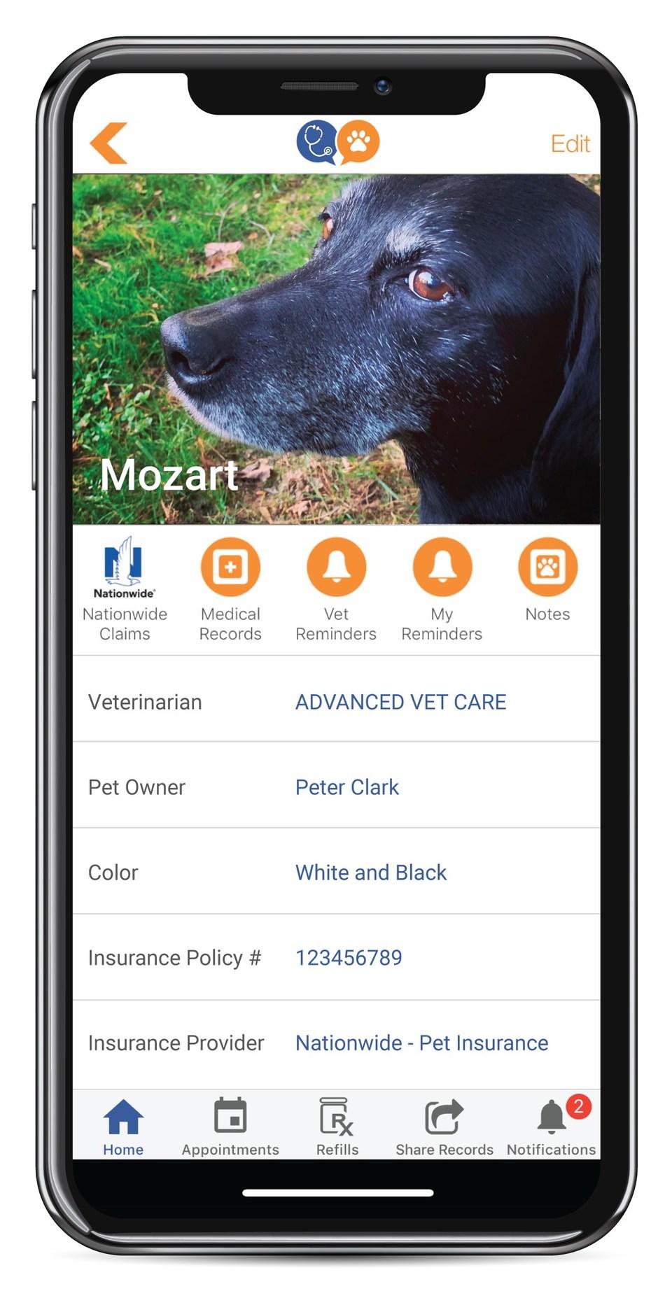 VitusVet Smartphone App