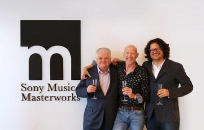 From Left to Right: Emmanuel Chamboredon, Mark Cavell, JC Chamboredon