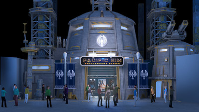 Pacific Rim: Shatterdome Strike Attraction Entrance Concept Art