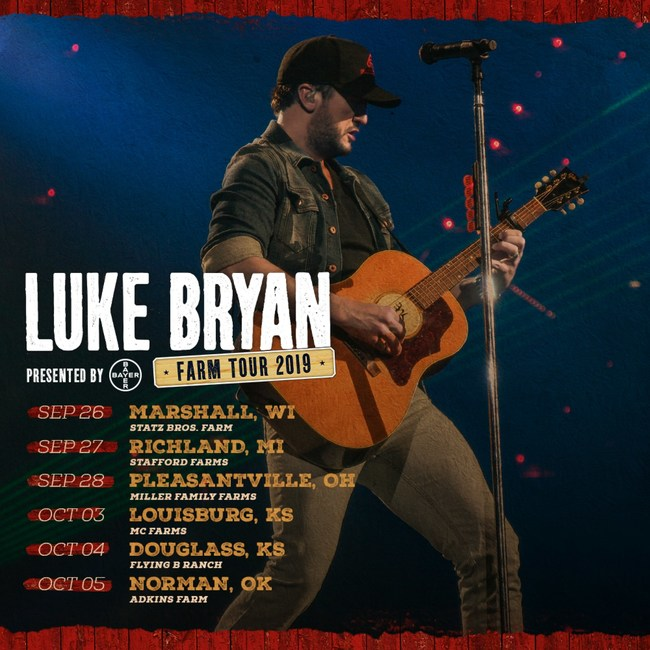 Bayer Extends Multi-Year Partnership with Luke Bryan and its