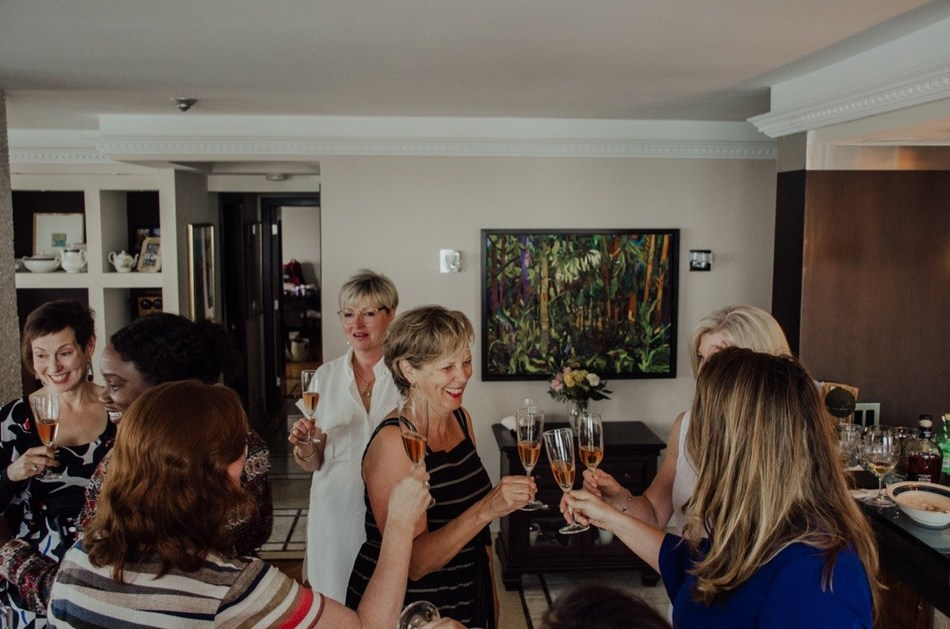 Champagne Celebration June 2019 (CNW Group/Les Dames d'Escoffer Ontario)