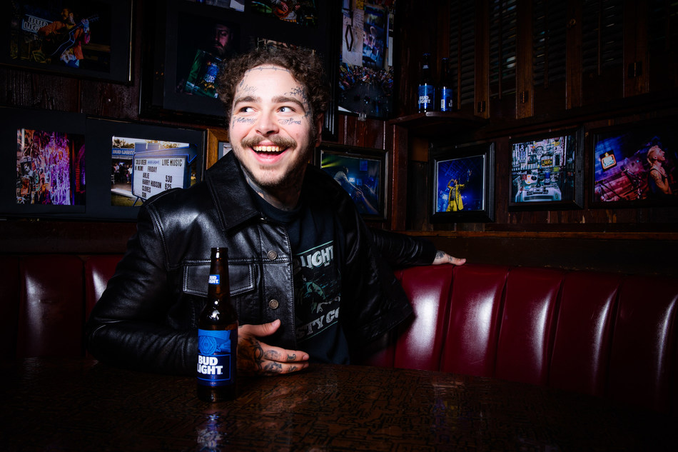 Bud Light and Post Malone Collaborate on a Limited-Edition Merch Collection