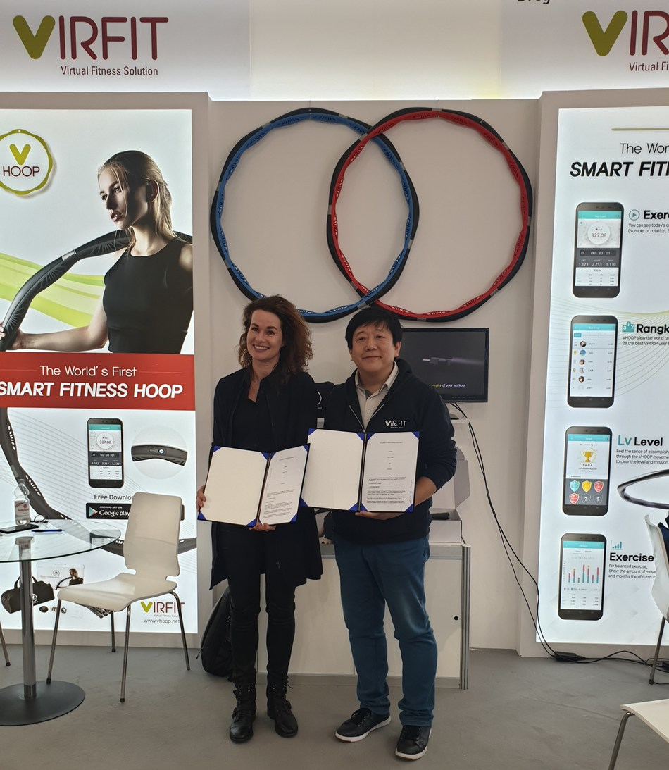 Virfit participated in FIBO exhibition on 4 April, 2019.