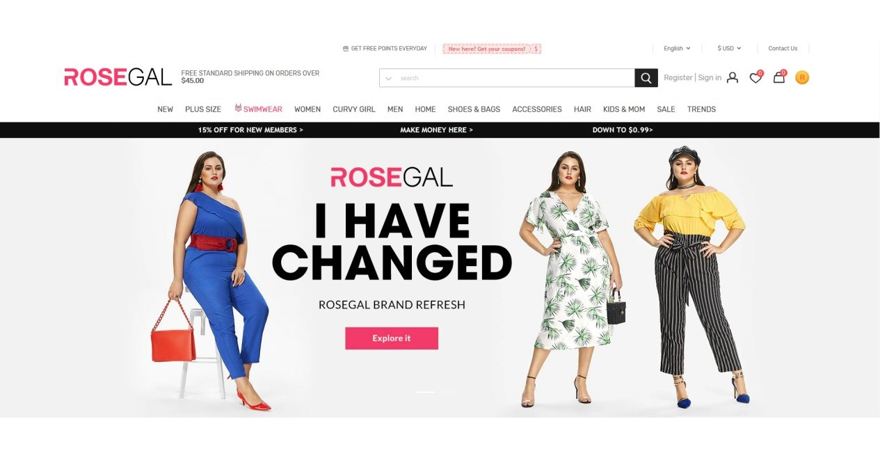 ROSEGAL upgrade to reach younger consumers while ...