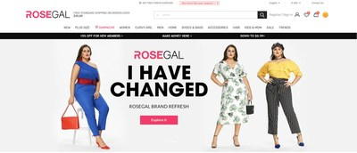 ROSEGAL upgrade to reach younger consumers while concentrating on plus size market