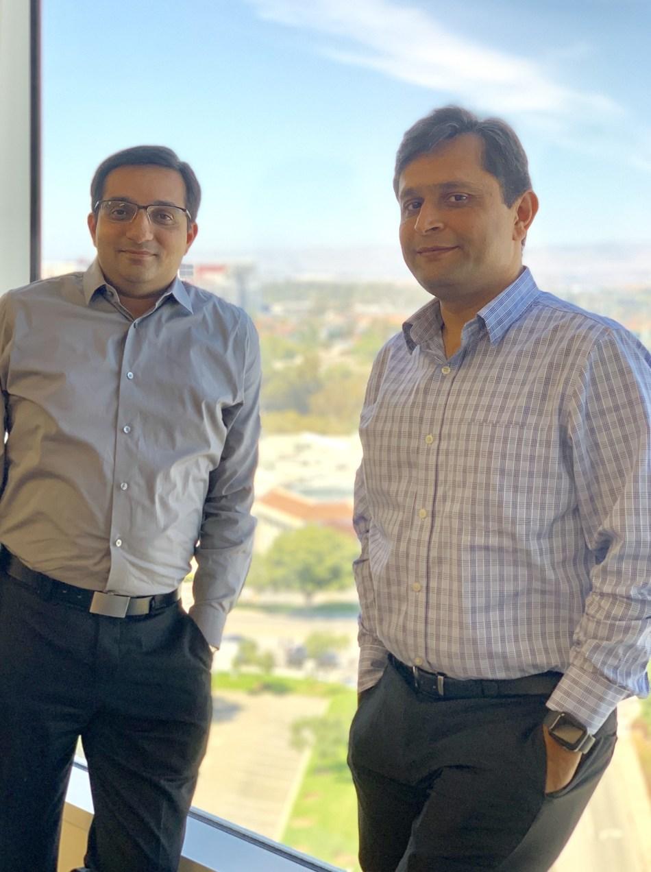 Nag Chandrashekar (left) and Sanjay Parmar (right), co-founders of Flype