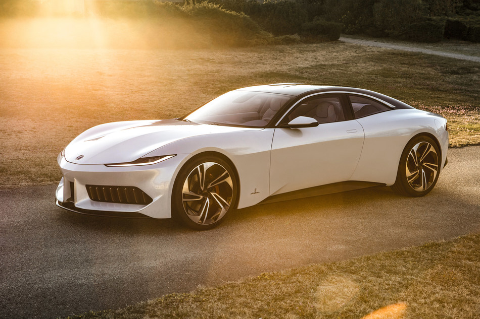 The Karma GT designed by Pininfarina will make its U.S. debut at Monterey Car Week, where guests can expect an up-close look at the one-of-a-kind car.