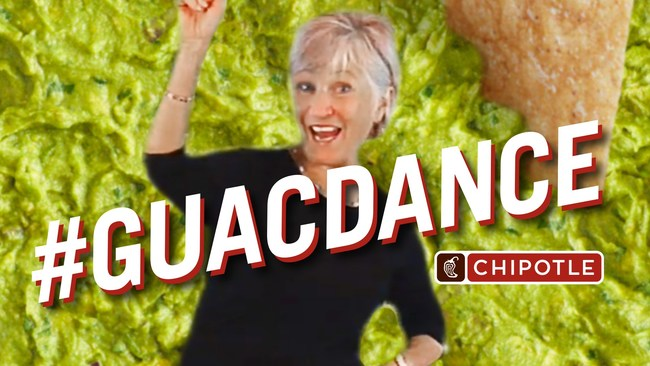 The TikTok challenge, #GuacDance, was inspired by Dr. Jean's viral guac song and is TikTok's highest performing branded challenge to run in the U.S. The campaign drove over 250,000 video submissions using the specific hashtag, resulting in nearly 430 million video starts during its six-day run on TikTok.