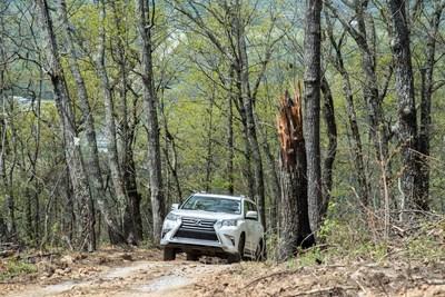 Lexus Off-Road Adventure en el resort con designación Relais & Châteaux