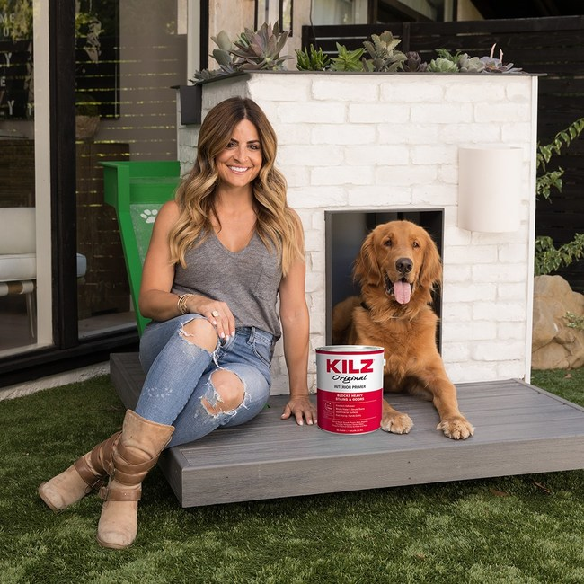 KILZ Brand and TV star Alison Victoria partnered to create five one-of-a-kind, luxurious dog retreats, which are being auctioned off to benefit The American Society for the Prevention of Cruelty to Animals (ASPCA).