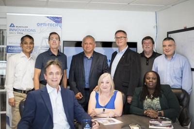 Équipement d'essais de métallographie et de dureté, consommables et service : l'équipe Opti-Tech (Toronto) est prête à vous aider. (PRNewsfoto/Buehler)