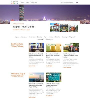 Agoda launches Travel Guides to help people travel easier