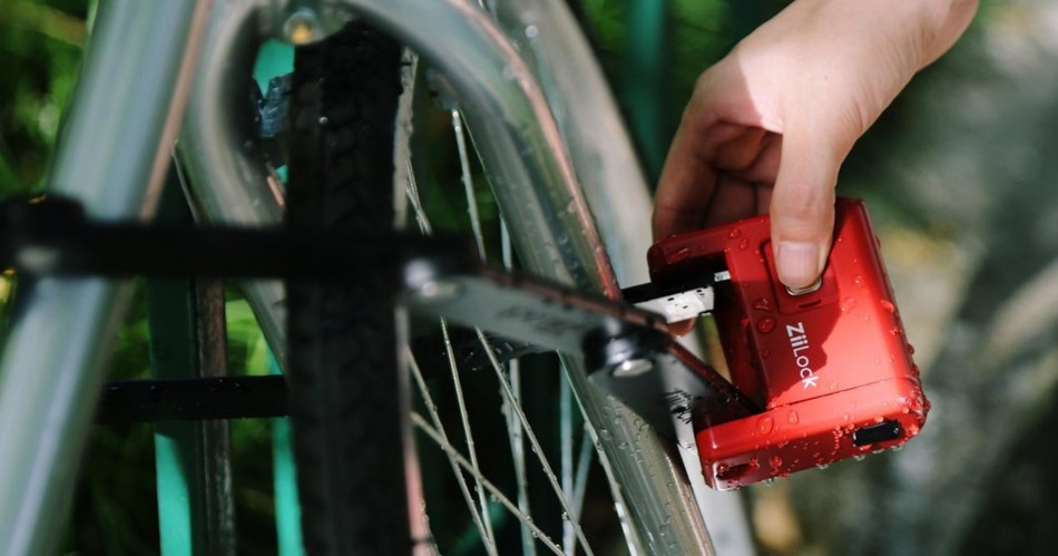ZiiLock's First Foldable Smart Bike Lock Is Launching on Indiegogo
