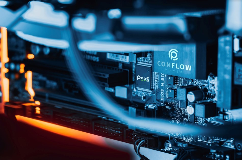 The ConFlow Power technology in action with Power-as-a-Service (PRNewsfoto/ILOCX)