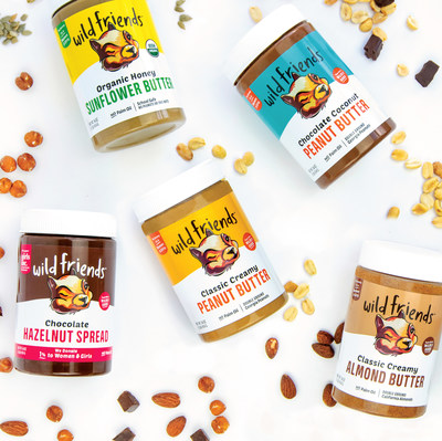 Wild Friends is an innovative clean-food company that makes nut and seed butters and nut butter-based breakfast items, non-GMO Project Verified, and made with natural ingredients.