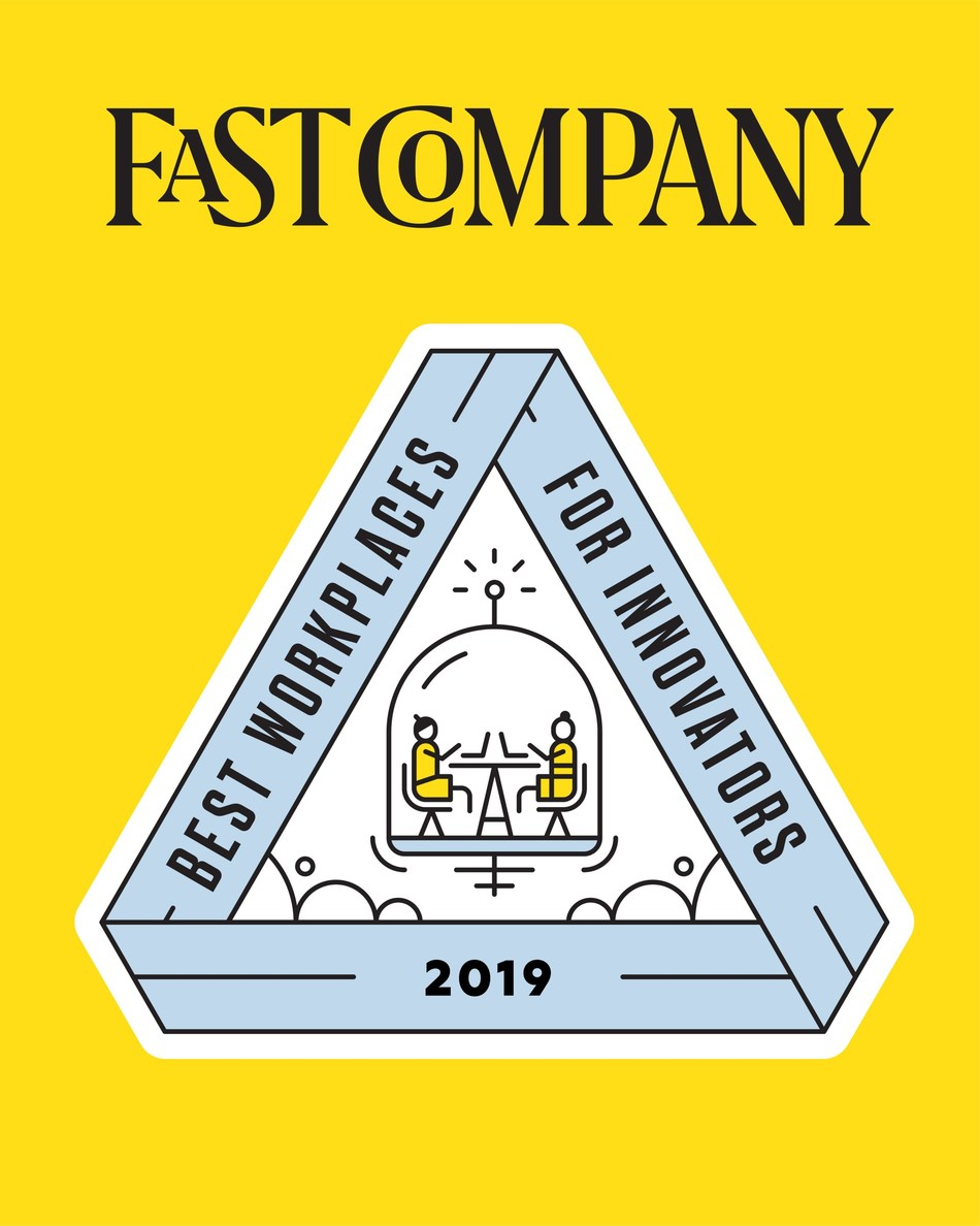 Blue Prism Acknowledged by Fast Company as Best Workplaces for Innovators