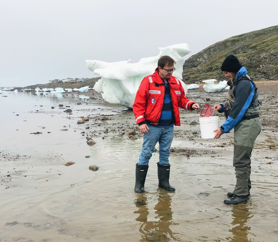 Government of Canada invests in marine science initiative led by the University of Waterloo in Iqaluit, Nunavut (CNW Group/Fisheries and Oceans (DFO) Canada)