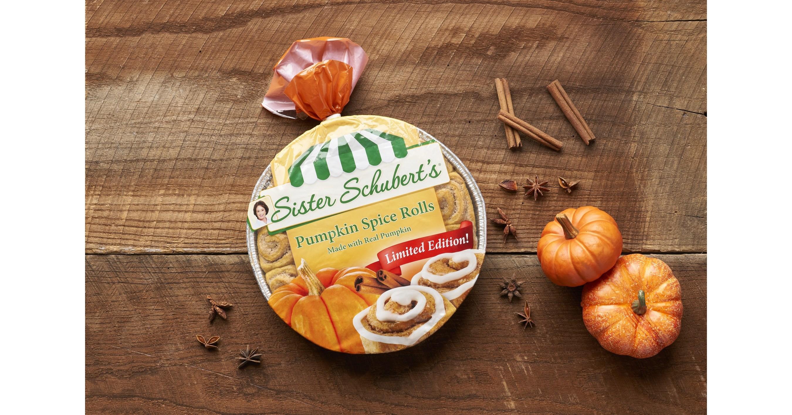 Tis The Pumpkin Season Sister Schubert S Introduces The Pumpkin