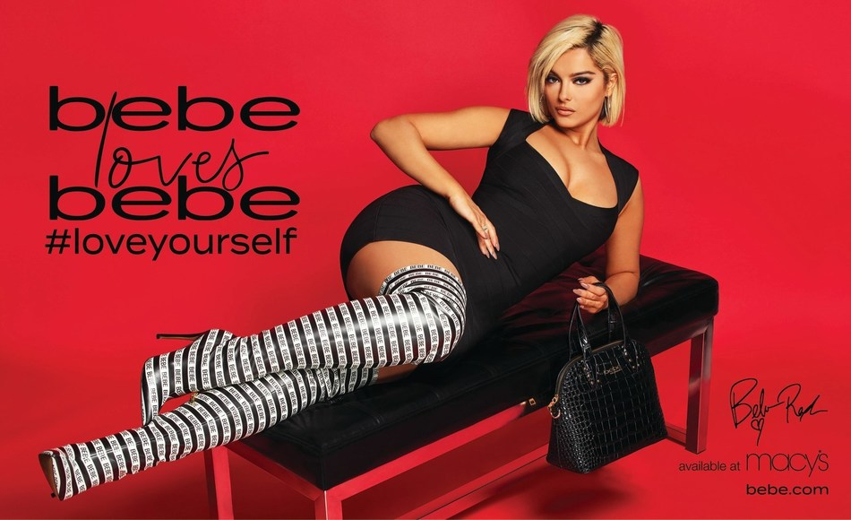 2X Grammy nominated artist, Bebe Rexha, has partnered up with fashion brand bebe, to debut an empowering national marketing campaign 'BEBE LOVES BEBE.' Rexha appears in the brand's Fall 2019 campaign, which will debut throughout the U.S. on social, out of home, and in print with the launch of Vogue's September issue. Visit www.bebe.com to learn more. Source: Bluestar Alliance