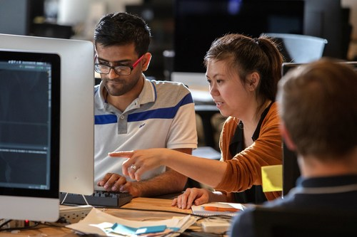 Raytheon software developers working on military and space programs now have access to the same coding tools and facilities used in the consumer technology world. (Photo: Raytheon Company)